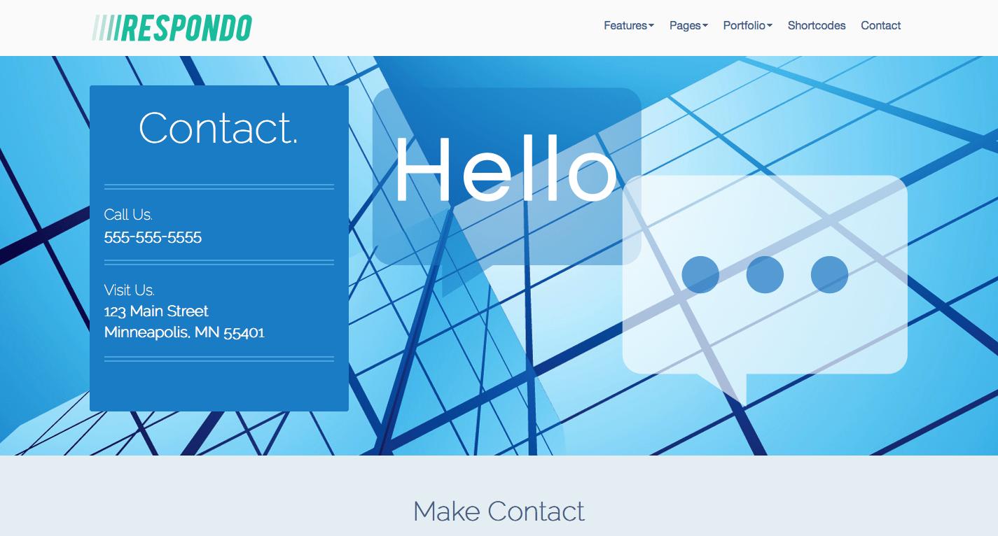 Contact the Company