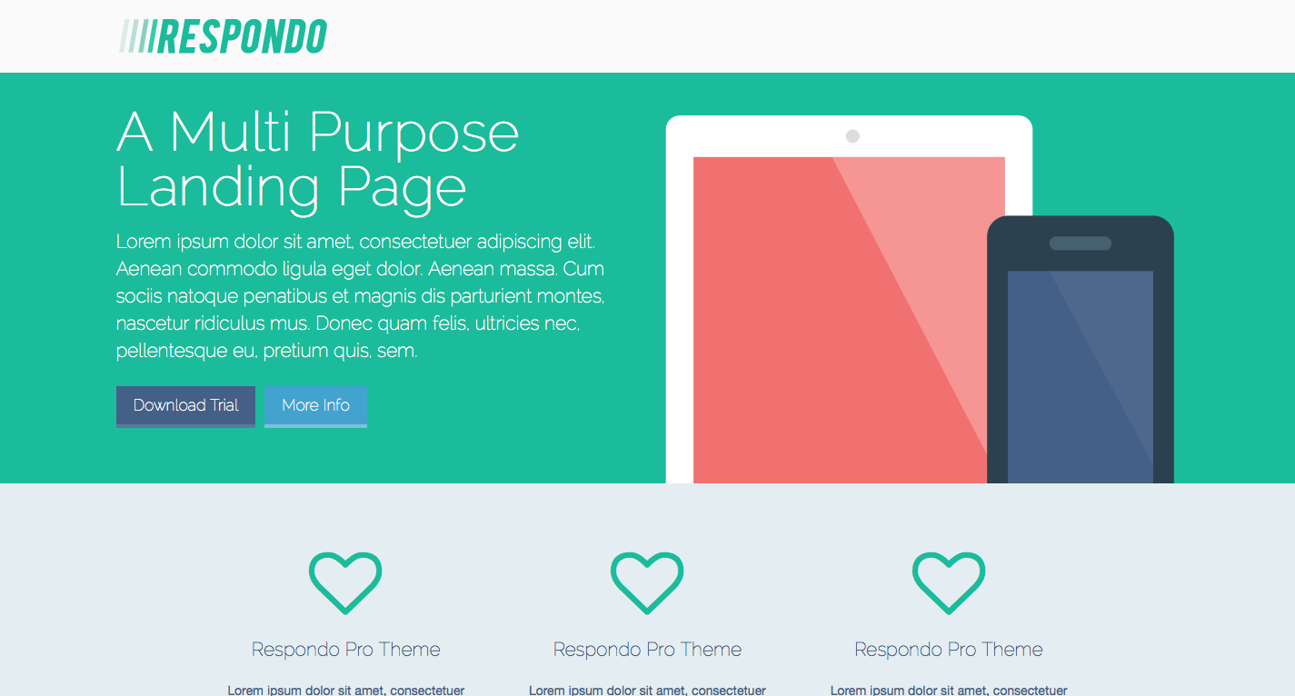 A Better Landing Page
