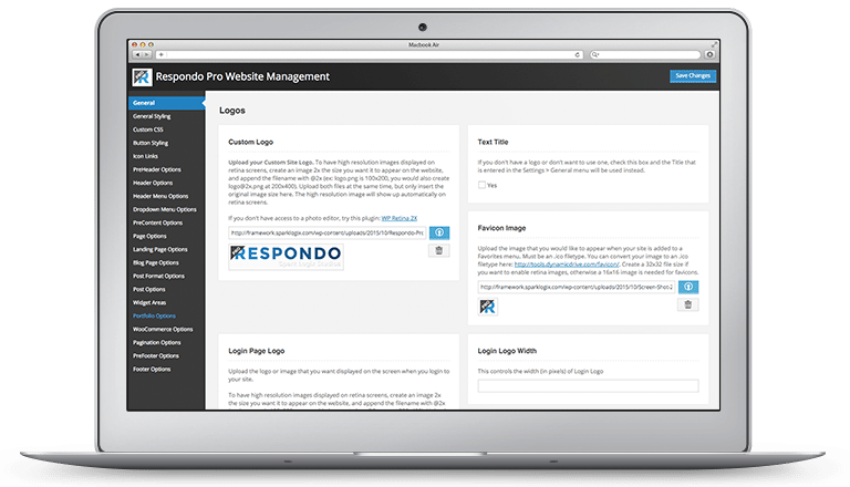 Respondo Pro Website Management