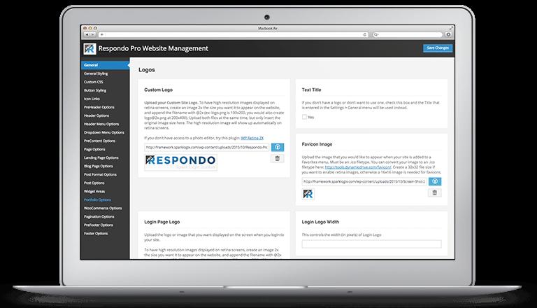 Respondo Pro Website Management