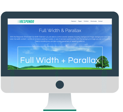 Full Width &Parallax