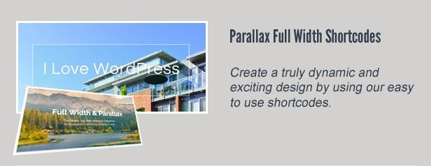 Parallax Full-Width
